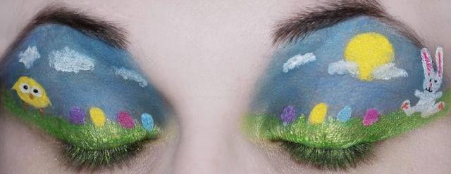 #Húsvéti #smink / #Easter #makeup