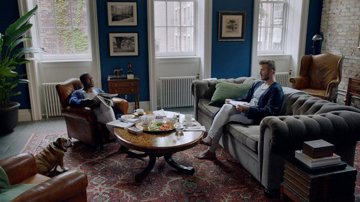 Pin for Later: You'll Never Guess Where David Beckham and Kevin Hart Shot This Commercial See the full H&M video here!