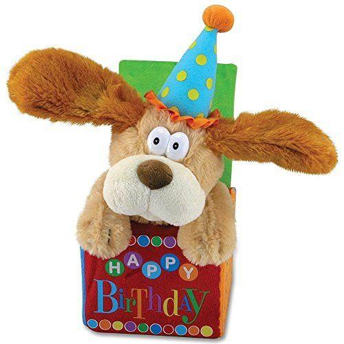 12 Flappy Birthday Animated Plush Puppy Dog Singing Happy Birthday