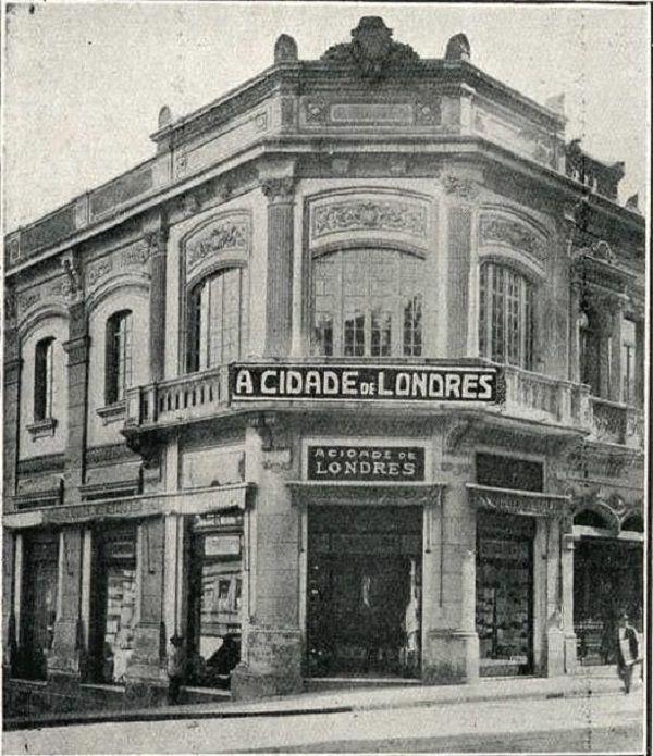 História do Comércio do Centro de São Paulo: A Cidade de Londres