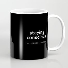 The perfect #student #mug, staying awake while #studying ... the struggle is real! #coffee #caffeine #sleep #lecture #relatable #humour #homewares #design #society6 #work #worklife