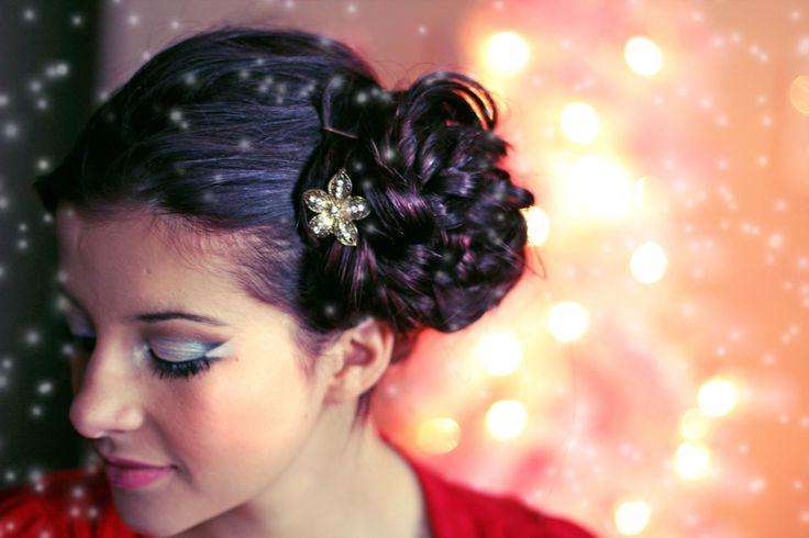 Holiday Lights Hair & Makeup