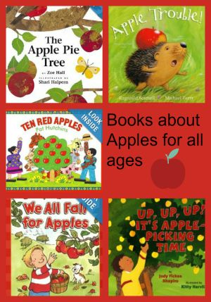 books about apples for all ages