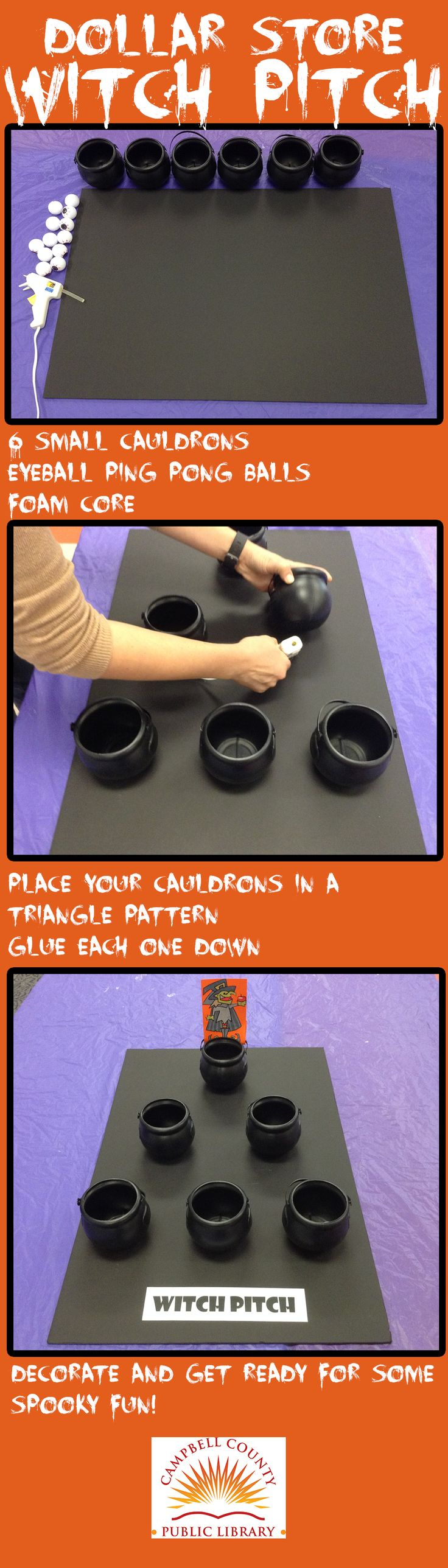 DIY this Halloween game for 8 Halloween games for kids