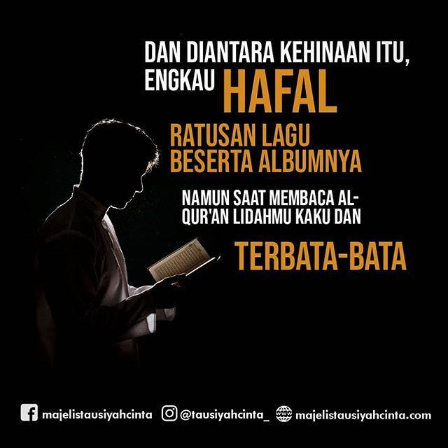 Hafal Ratusan Lagu Bisa Masa Hafal Satu Ayat Al Quran Aja Susah