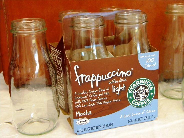 11 Ways to Repurpose Starbucks frappuccino bottles