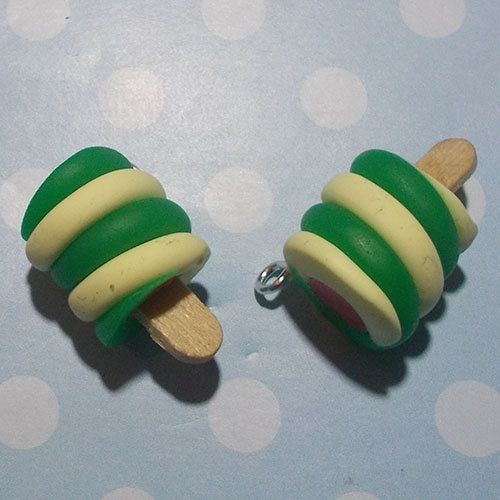 Twister lolly charms