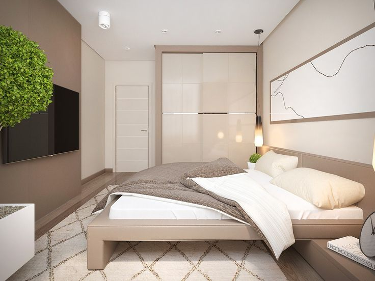 pretty simple bedroom