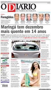 O Diario do Norte do Parana 11-12-2012 Brazil