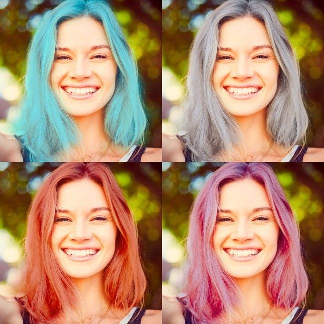 Hair Color Changer Compare Up To 9 Hair Colors At Once In 2020 Hair Color Changer Try On Hair Color Hair Makeover