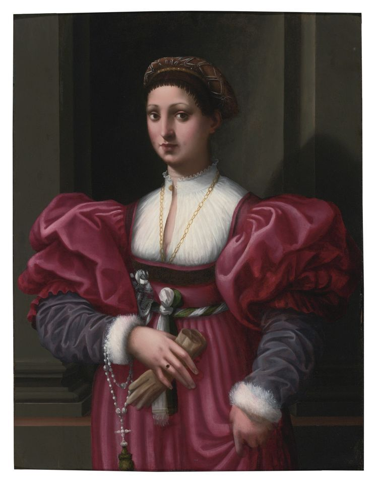 1510-1530 Vincenzo Tamagni - Portrait of a woman