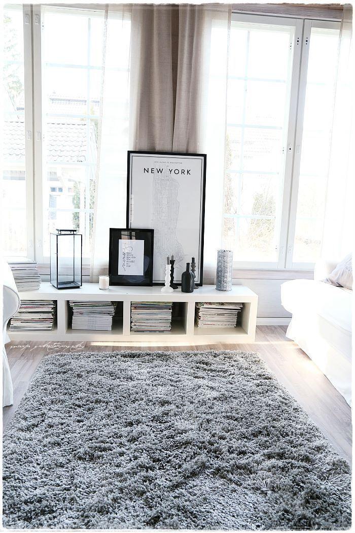 Interior Simple Plush Area Rugs For