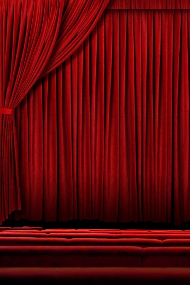 Pin By Amy Harmeier On Home Theater Red Drapes Red Curtains Simply Red