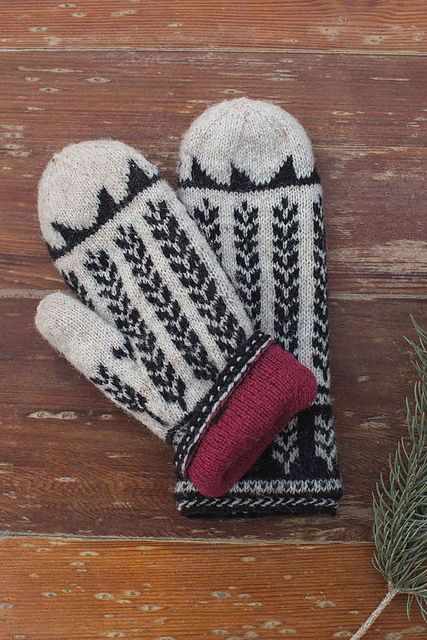 Ravelry: Ibex Valley Mittens pattern by Little Church Knits