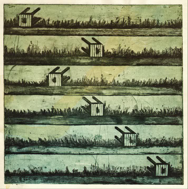 """Табуреты"", офорт, 1978 год"