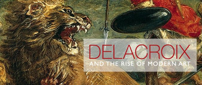 """Delacroix and the Rise of Modern Art"", The National Gallery, Londres"