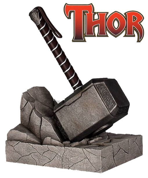 Apoio De Livros Martelo De Thor Martelo De Thor Thor E Vingadores