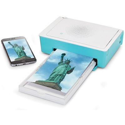 A versatile printer that prints photo quality pictures from your iPhone, iPad, PC, or memory card