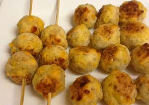 Image: Gluten Free Appetizers: Sausage and Cheese Balls