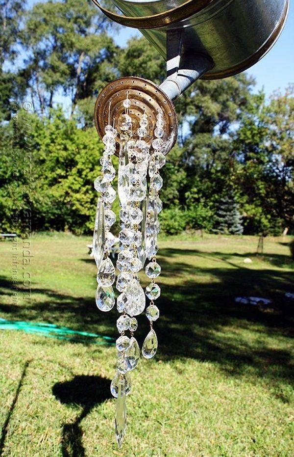 Stylish garden chandelier Ideas (17)
