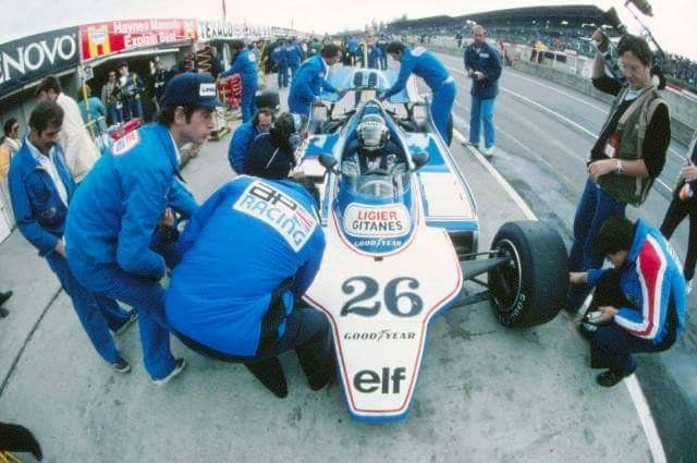 Jacques Laffite - Ligier
