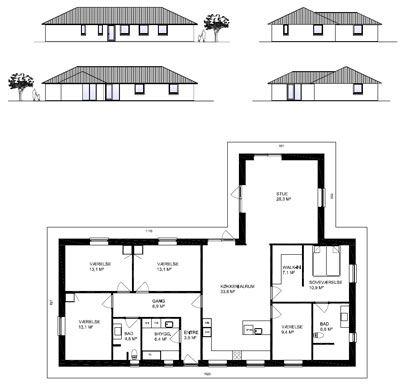 5 værelser