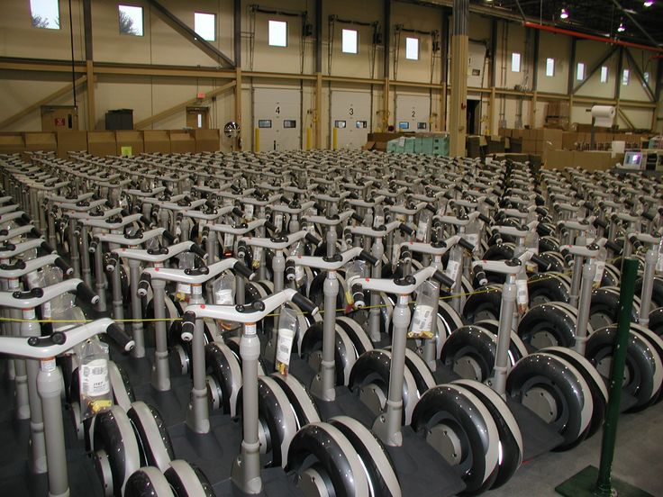 Throwback Thursday - The #Segway #i167s are lined up and ready to roll. Circa 2003.