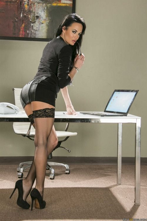 Office babes sexy, sylvia booty