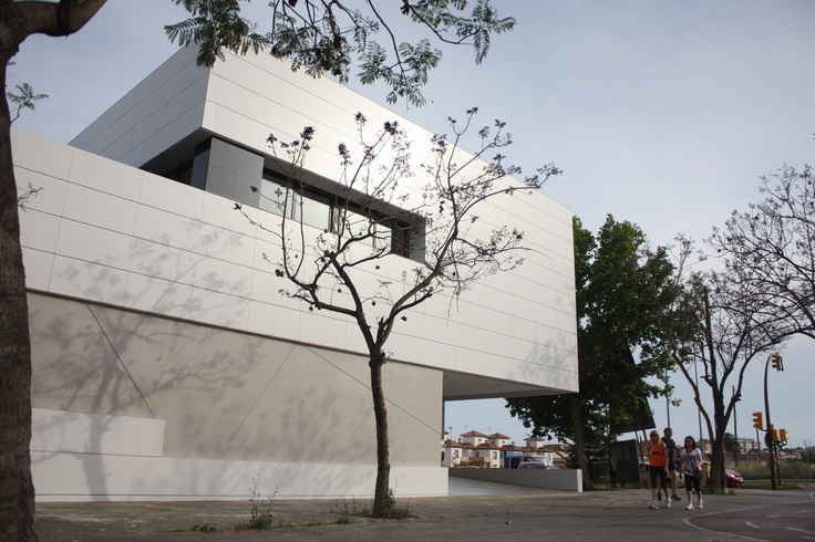 Entrance. Residencia para personas con discapacidad. LAR Arquitectura. www.laboratoriodearquitectura.es