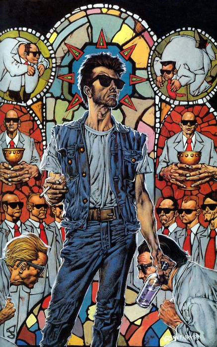 Preacher (Cassidy & Stained Glass), Glenn Fabry