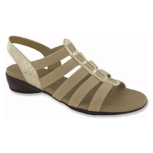 Munro American Womens Darian NaturalStretch Sandal 55 M B * Continue to the  product at the image