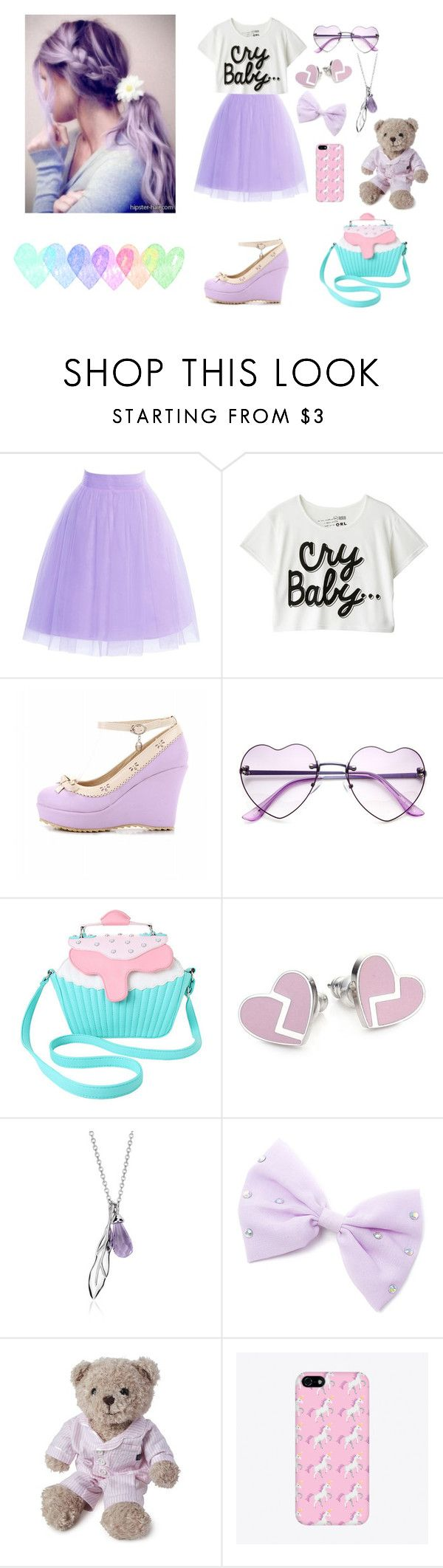 """Cry Baby / Melanie Martinez #2"" by emily-esteves ❤ liked on Polyvore featuring Iron Fist, Marc by Marc Jacobs, Blue Nile and Lexington"