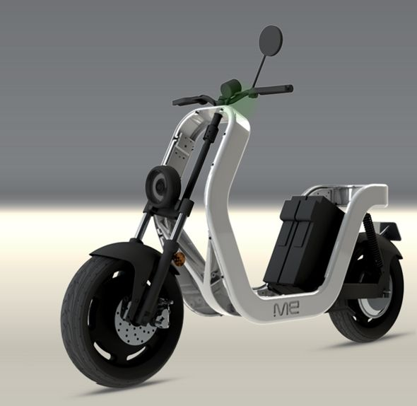 Lo scheletro del ME Electric Scooter | Picame - Daily dose of creativity