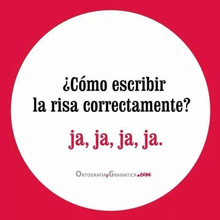 ¿Sabes cómo escribir la risa correctamente en español