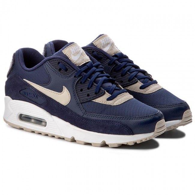 33000 Cipők NIKE - Air Max 90 325213 410 Binary Blue/Oatmeal/White