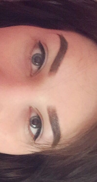liner and brows