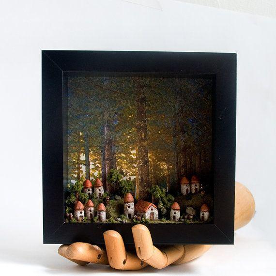 Miniatures by Bewilder & Pine in Portland, Oregon. |