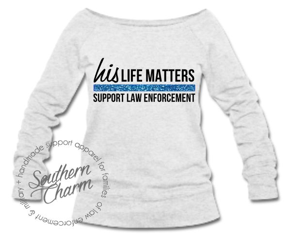Southern Charm Designs His Life Matters Top