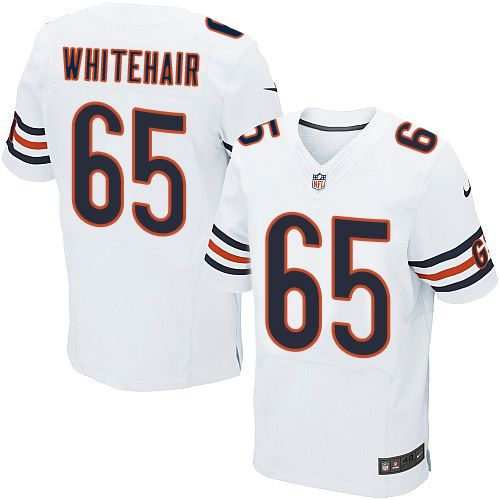 (AP) Mens Nike Chicago Bears 65 Cody Whitehair Elite White NFL Jersey ... cf7ca0116