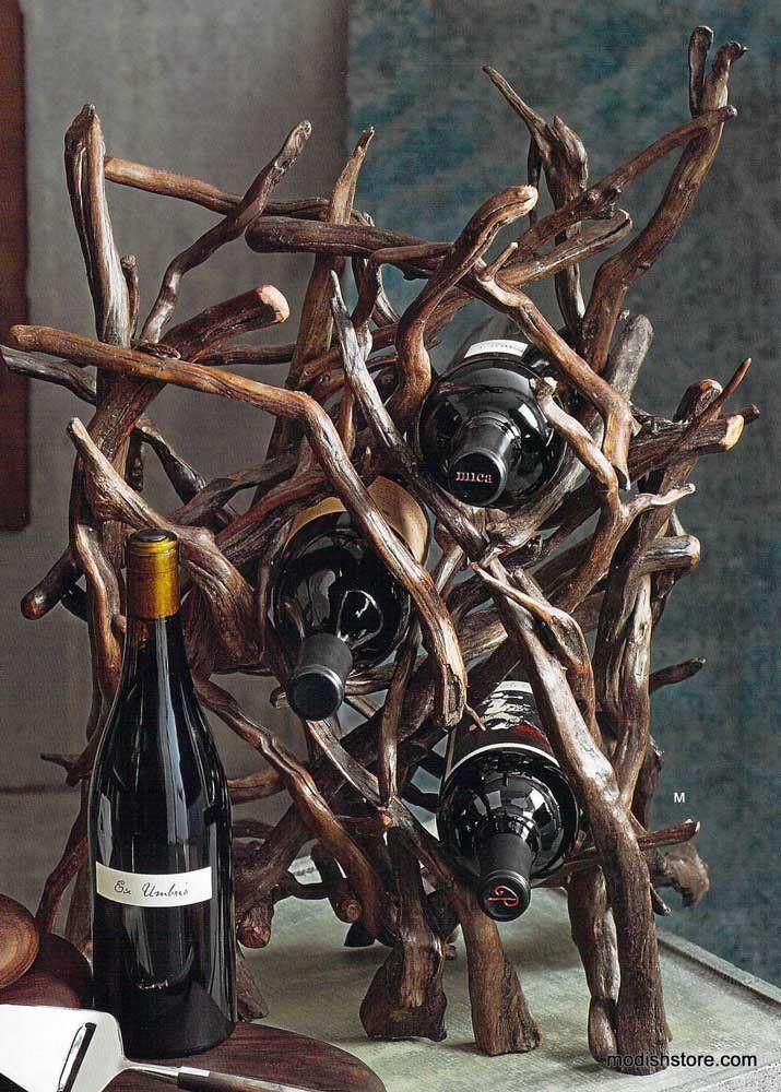 Roost Driftwood Wine Rack – Modish Store