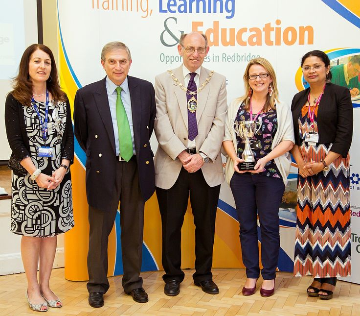 Redbridge Institute's Community Learning Champion Cup was awarded to Redbridge School Children's Centre