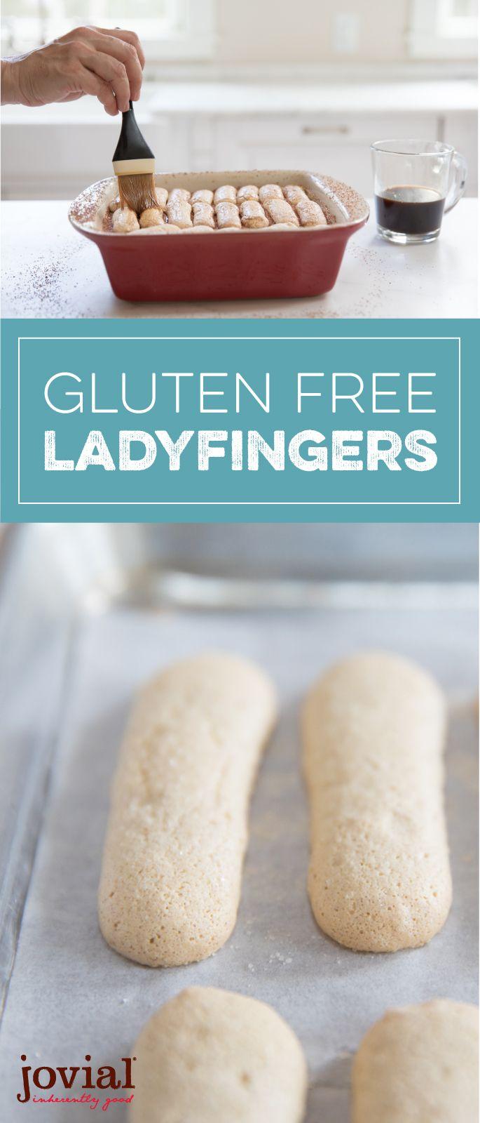 Gluten Free Ladyfingers   jovialfoods.com