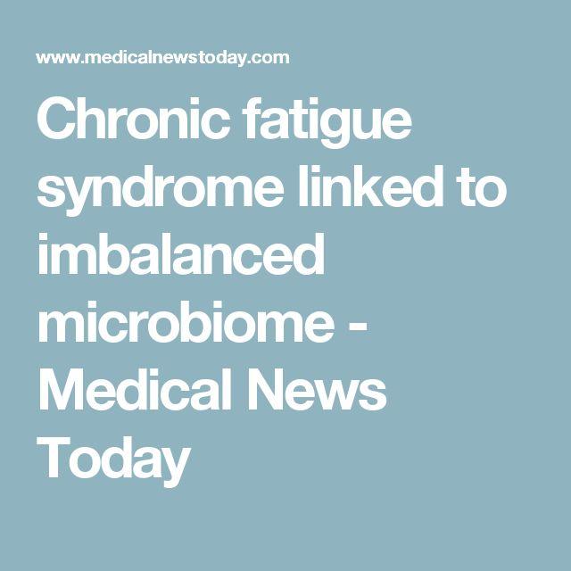 Chronic fatigue syndrome linked to imbalanced microbiome - Medical News Today