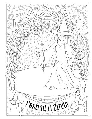940 best Pagan Coloring Pages images on Pinterest