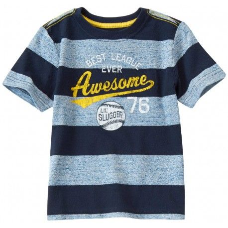 Camiseta Gymboree Awesome Lil Slugger