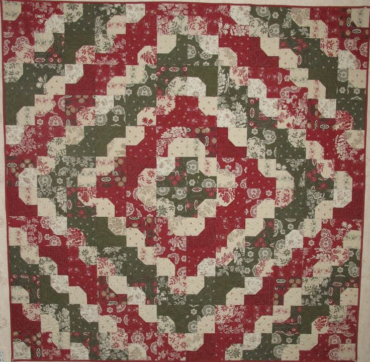 1000 images about red white green quilts on pinterest for Red door design quilts