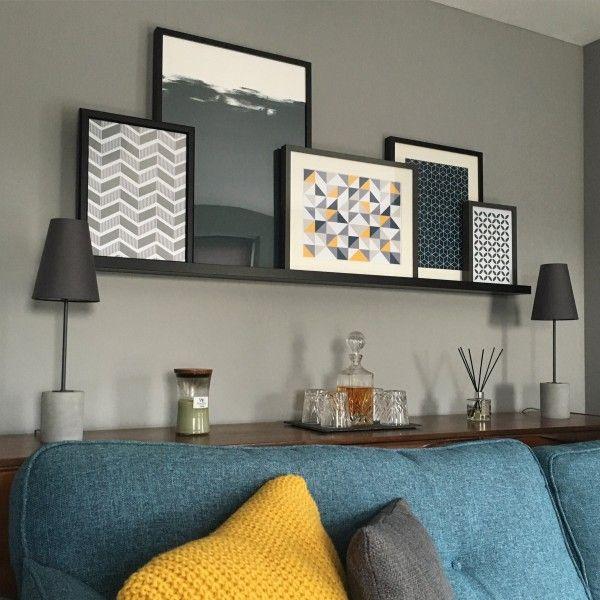 Ira Tischlampe Grau Grey Living RoomsLiving Room