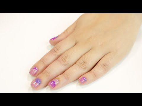 Marble nail art how-to - beautyheaven