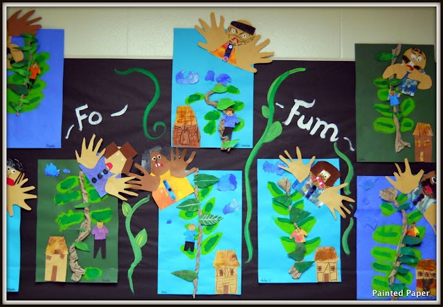Tall tales and fairy tales theme:  Jack and the Beanstalk (2nd grade): 2012 Art, Fairies, Fairy Tales, Paper Art, Jack O'Connell, Fairytales, Art Shows, 2Nd Grade