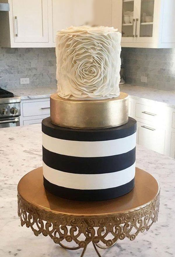 Sensational Perla Wedding Cakes Johannesburg Striped Cake Wedding Cake Personalised Birthday Cards Arneslily Jamesorg